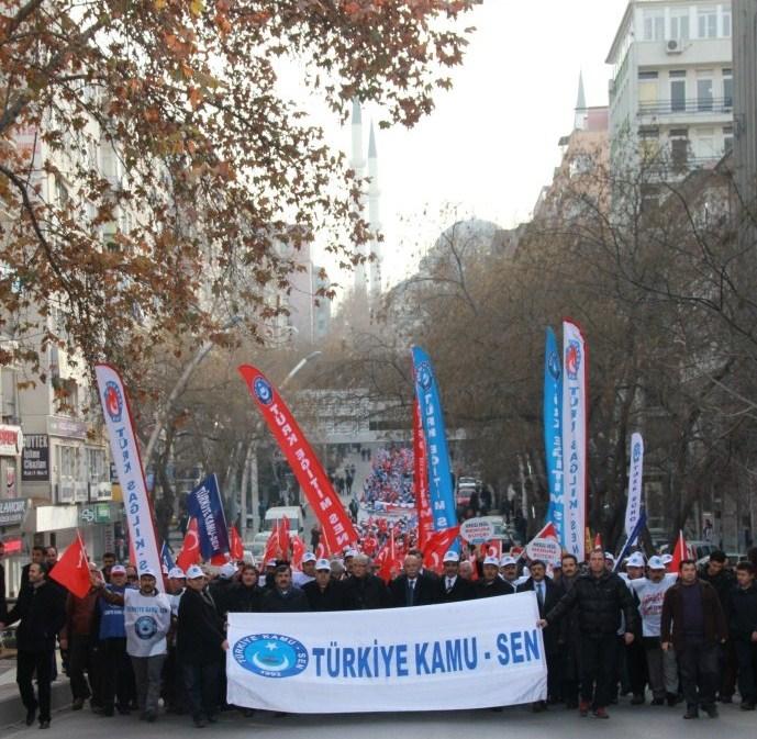 """""""HIRSIZA DEĞİL, MEMURA BÜTÇE"""" DEDİK, ANKARA'YI İNLETTİK!"""