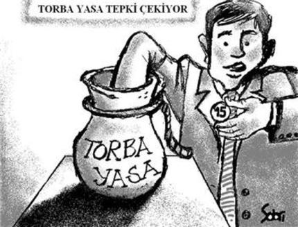TORBA KANUN YÜRÜRLÜKTE..