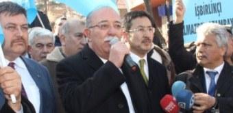GULCA KATLİAMI PROTESTO EDİLDİ