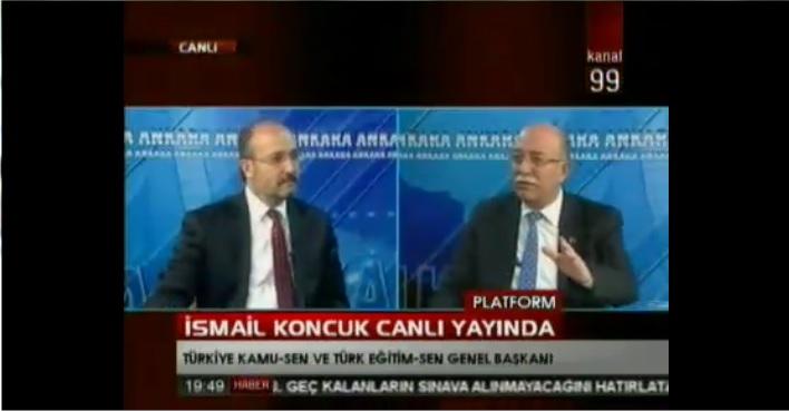 GENEL BAŞKANIMIZ KANAL 99 TV'DE GÜNDEMİ DEĞERLENDİRDİ