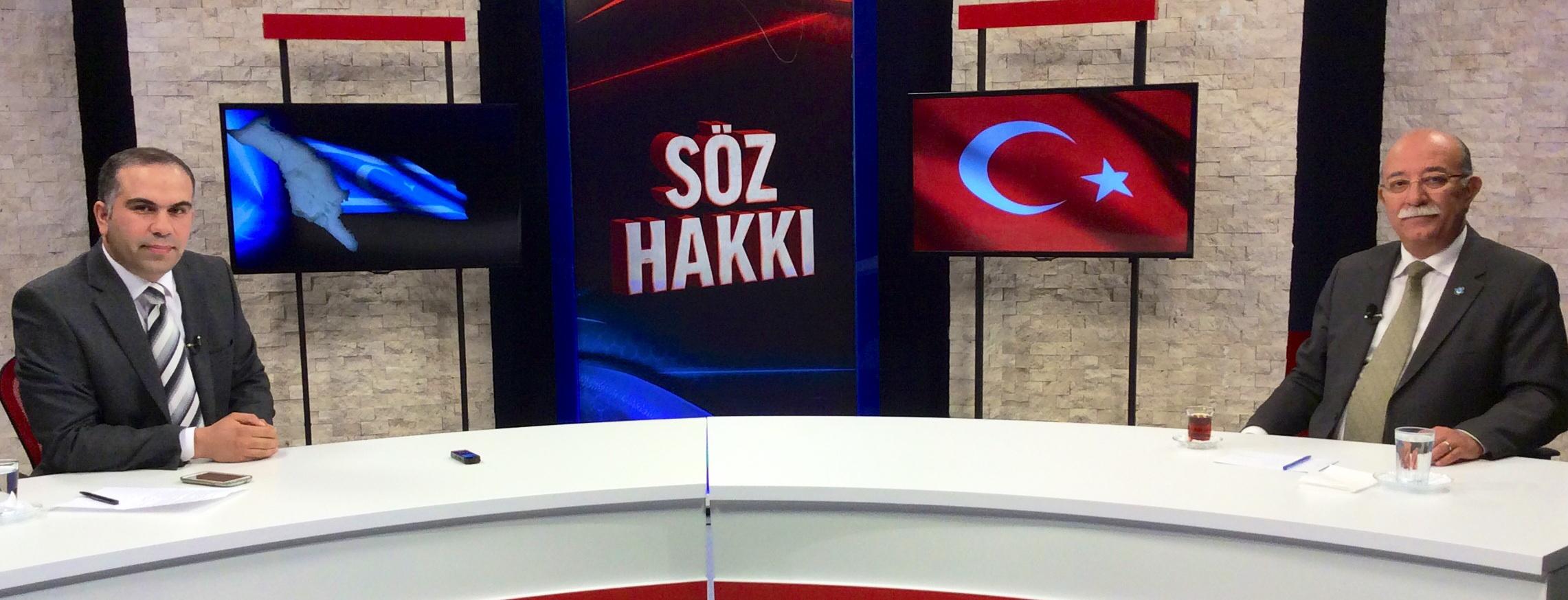"""GENEL BAŞKAN İSMAİL KONCUK """"SÖZ HAKKI""""NA KONUK OLDU"""