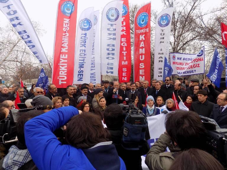 """KONCUK: TOPLU SÖZLEŞME MEMURUN """"SEVR""""İDİR!"""