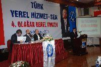 TÜRK YEREL HİZMET-SEN KONGRESİNİ TAMAMLADI