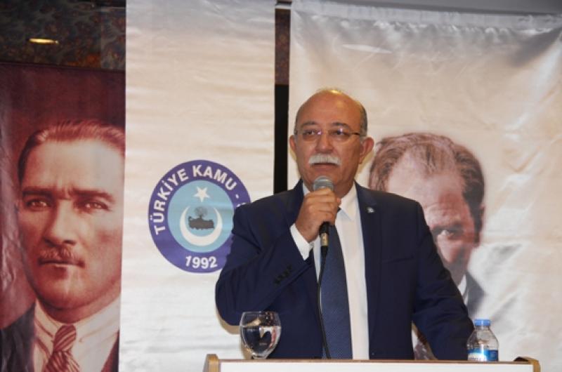 """İSMAİL KONCUK'TAN, BAŞBAKAN'A; """"SENDİKALAR ARASI TARAF OLMAYIN!"""""""