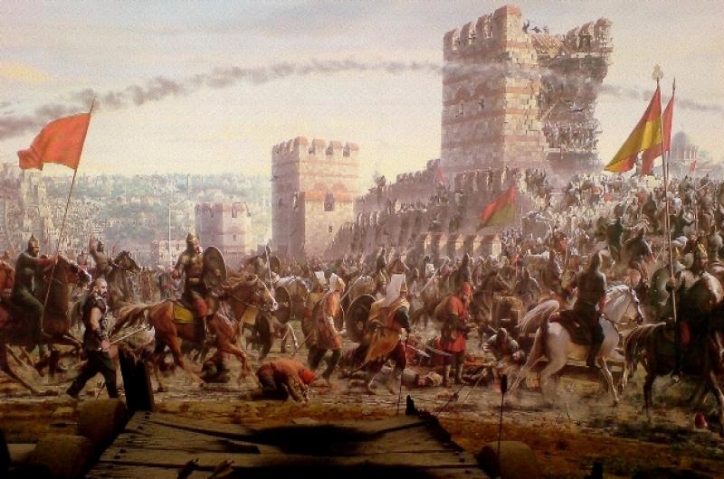 ŞEHİRLER SULTANI İSTANBUL'UN FETHİNİN 563. YILI KUTLU OLSUN