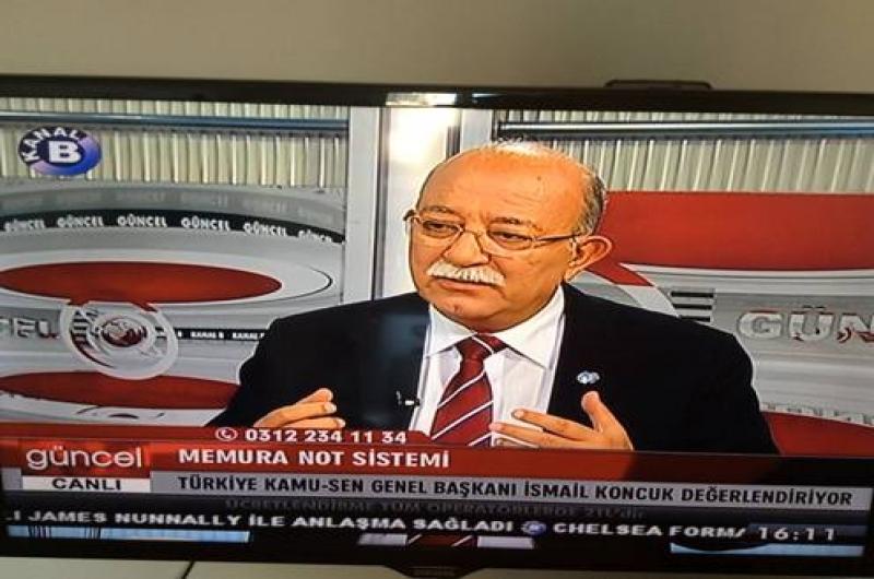 """KONCUK: MEMURLAR """"PERFORMANS"""" SİSTEMİNE KARŞI SESLERİNİ YÜKSELTMELİDİR"""