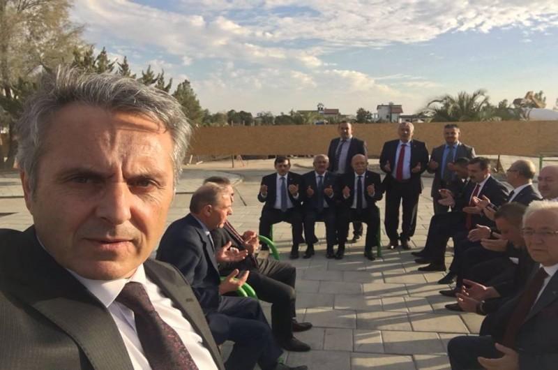 """TÜRKİYE KAMU-SEN YÖNETİM KURULU """"KKTC""""DE"""