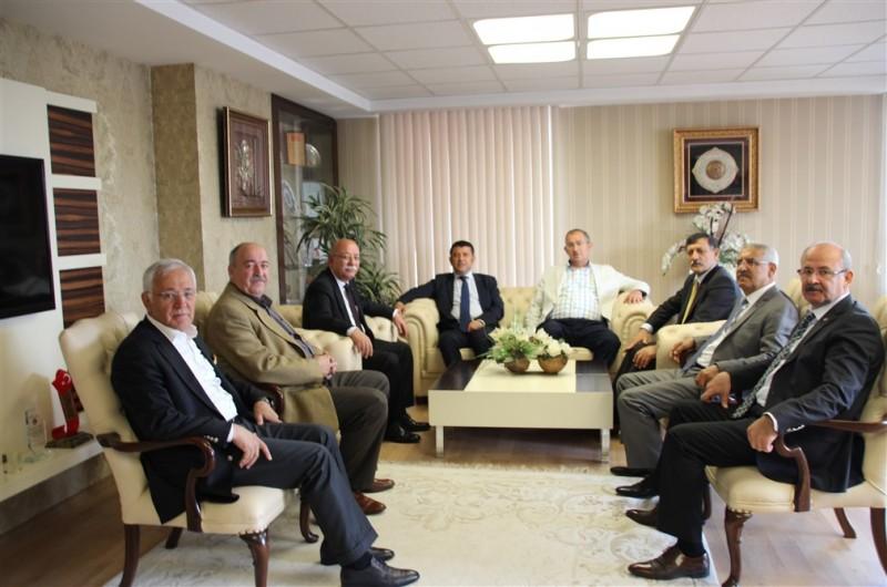 CHP HEYETİ KONFEDERASYONUMUZU ZİYARET ETTİ