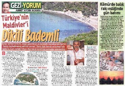TÜRKİYE KAMU-SEN TATİL SİTESİ BASINDA YER ALDI.