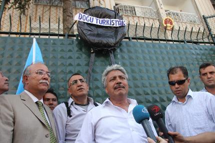 ÇİN ZULMÜ PROTESTO EDİLDİ