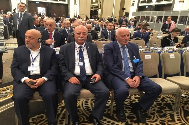 GENEL BAŞKAN İSMAİL KONCUK ILO 10. BÖLGE TOPLANTISINDA KONUŞTU