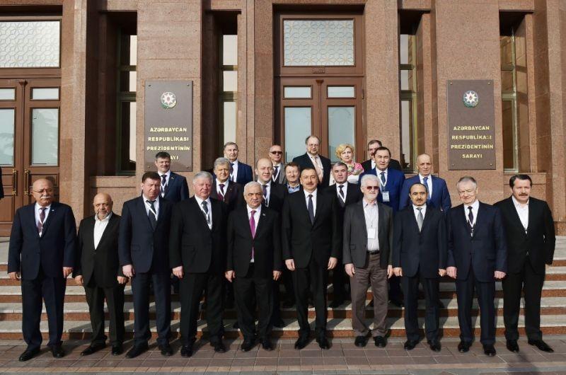 GENEL BAŞKAN AZERBAYCAN HEMKARLAR İTTİFAKLARI KONFEDERASYONU'NUN GENEL KURULU'NA KATILDI