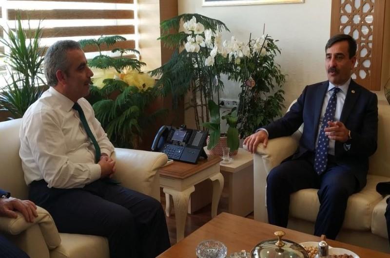 DEVLET PERSONEL BAŞKANI ENES POLAT'I ZİYARET ETTİK
