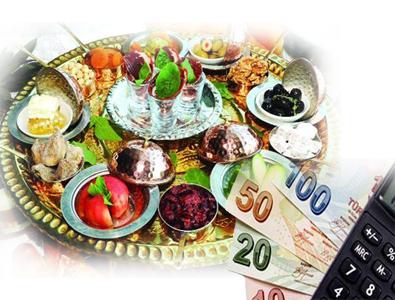 İFTAR SOFRASININ MALİYETİ 745 TL