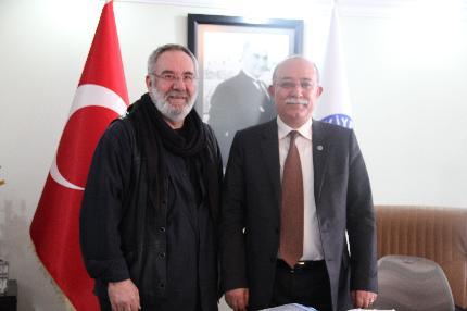 AŞIK SEFA-İ'DEN TÜRKİYE KAMU-SEN'E ZİYARET