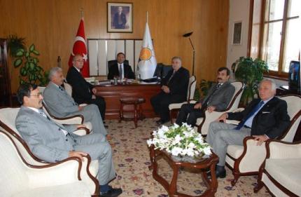AKP GRUP BAŞKAN VEKİLİ BEKİR BOZDAĞ'I ZİYARET ETTİK