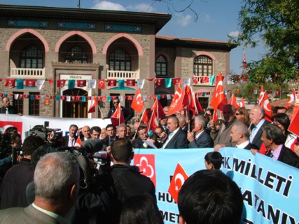 """TÜRK DAYANIŞMA KONSEYİNDEN """"AÇILIMA"""" TEPKİ"""