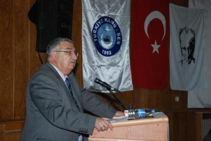 Türkiye Kamu-Sen Genel Başkanı Bircan Akyıldız, 'KAMU GÖREVLİSİNİ HAFİFE ALANLARA GÜCÜMÜZÜ GÖSTERECEĞİZ'