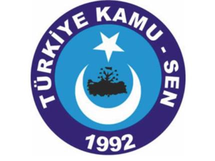 TÜRKİYE KAMU-SEN TÜRK-İŞ'İ DESTEKLİYOR.
