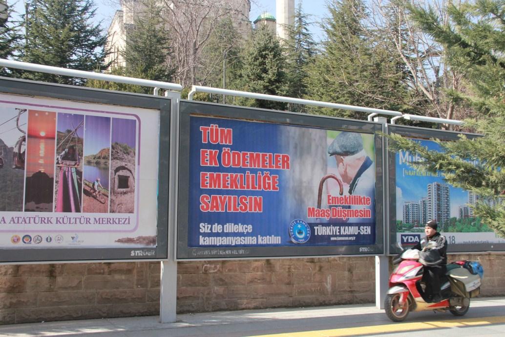 """""""EMEKLİ KAMPANYAMIZ BİLBOARDLARDA"""""""