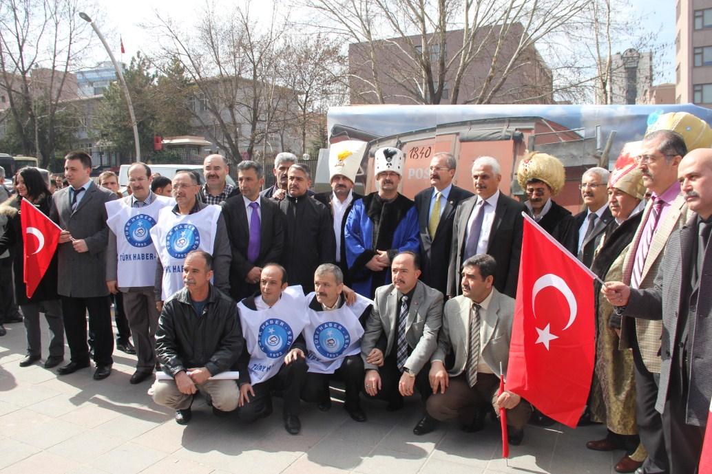 PTT A.Ş'YE TEPKİMİZ MECLİSE DAYANDI