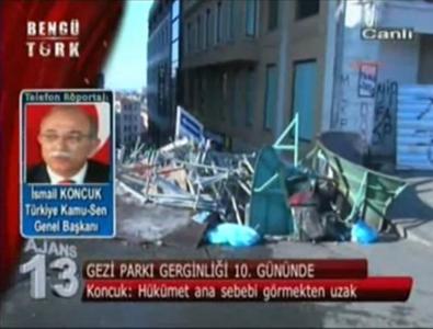 """GENEL BAŞKAN, """"GEZİ PARKI MESELESİ BARDAĞI TAŞIRAN SON DAMLA OLDU"""""""