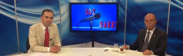 """GENEL BAŞKAN KONCUK, BENGÜTÜRK TV'DE """"SÖZ HAKKI""""NA KONUK OLDU"""