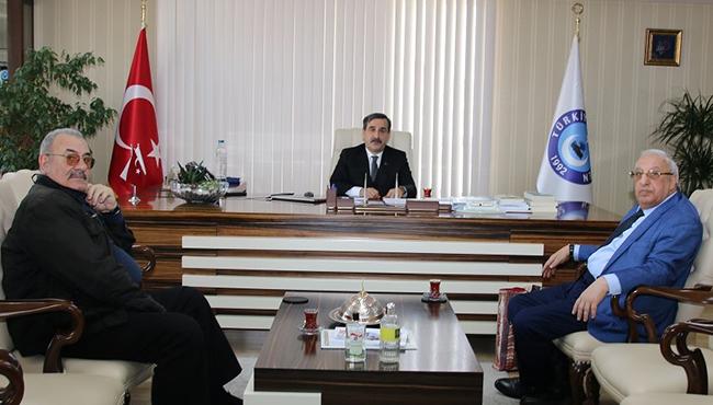 AZERBAYCAN SAĞLIK İŞÇİLERİ SENDİKASI'NDAN KONFEDERASYONUMUZA ZİYARET
