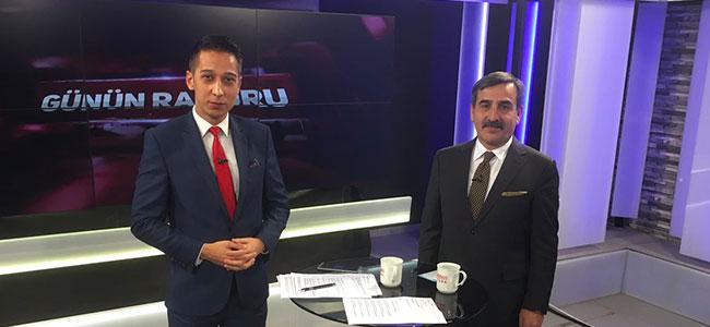 GENEL BAŞKAN BENGÜTÜRK TV'DE GÜNDEMİ DEĞERLENDİRDİ
