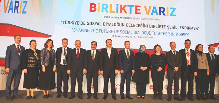 GENEL BAŞKAN ÖNDER KAHVECİ, ILO'NUN