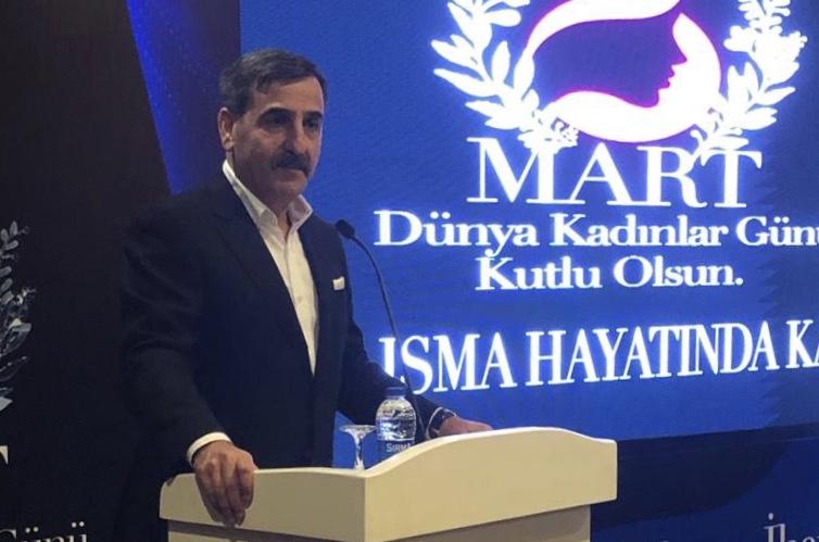 GENEL BAŞKAN ÖNDER KAHVECİ,  TÜRK YEREL HİZMET-SEN'Lİ KADINLARLA BİR ARAYA GELDİ