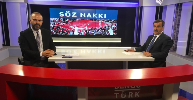 GENEL BAŞKANIMIZ ÖNDER KAHVECİ BENGÜ TÜRK TV'YE KONUK OLDU