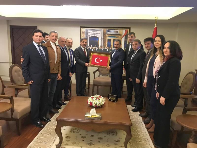 GENEL BAŞKANIMIZ ÖNDER KAHVECİ SAMSUN'DA