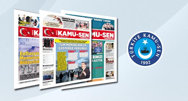 Türkiye Kamu-Sen Gazetesi