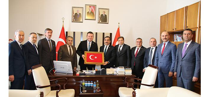 MHP GRUP BAŞKANVEKİLİ LEVENT BÜLBÜL'Ü ZİYARET ETTİK