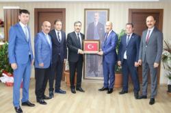GÜVENLİK-İŞ SENDİKASI'NDAN KONFEDERASYONUMUZA ZİYARET