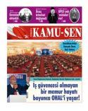 TÜRKİYE KAMU-SEN GAZETESİ 105. SAYISI