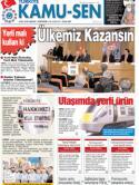 TÜRKİYE KAMU-SEN GAZETESİ 37. SAYISI