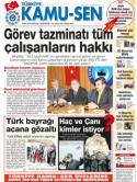 TÜRKİYE KAMU-SEN GAZETESİ 40. SAYISI