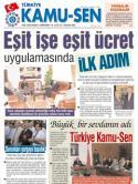 TÜRKİYE KAMU-SEN GAZETESİ 55. SAYISI