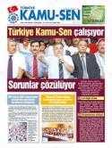 TÜRKİYE KAMU-SEN GAZETESİ 58. SAYISI