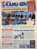 TÜRKİYE KAMU-SEN GAZETESİ 63. SAYISI
