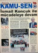 TÜRKİYE KAMU-SEN GAZETESİ 77. SAYISI