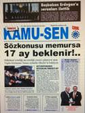 TÜRKİYE KAMU-SEN GAZETESİ 81. SAYISI