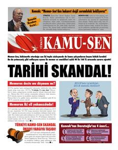 TÜRKİYE KAMU-SEN GAZETESİ 100. SAYISI