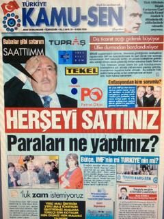 TÜRKİYE KAMU-SEN GAZETESİ 35. SAYISI