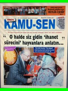 TÜRKİYE KAMU-SEN GAZETESİ 88. SAYISI