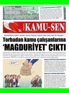 TÜRKİYE KAMU-SEN GAZETESİ 94. SAYISI