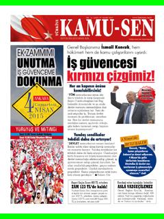 TÜRKİYE KAMU-SEN GAZETESİ 97. SAYISI