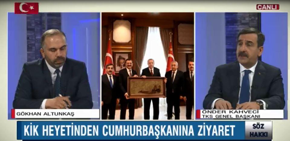 Genel Başkanımız Önder Kahveci Bengü Türk TV'de gündemi değerlendirdi